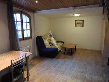 Studio meublé 24,61 m2