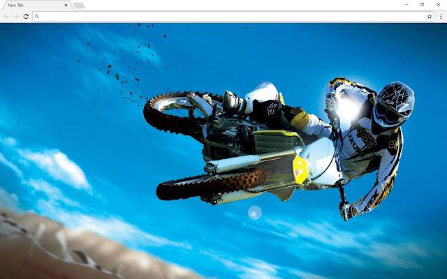 Dirt Bikes & Motocross Backgrounds & New Tab