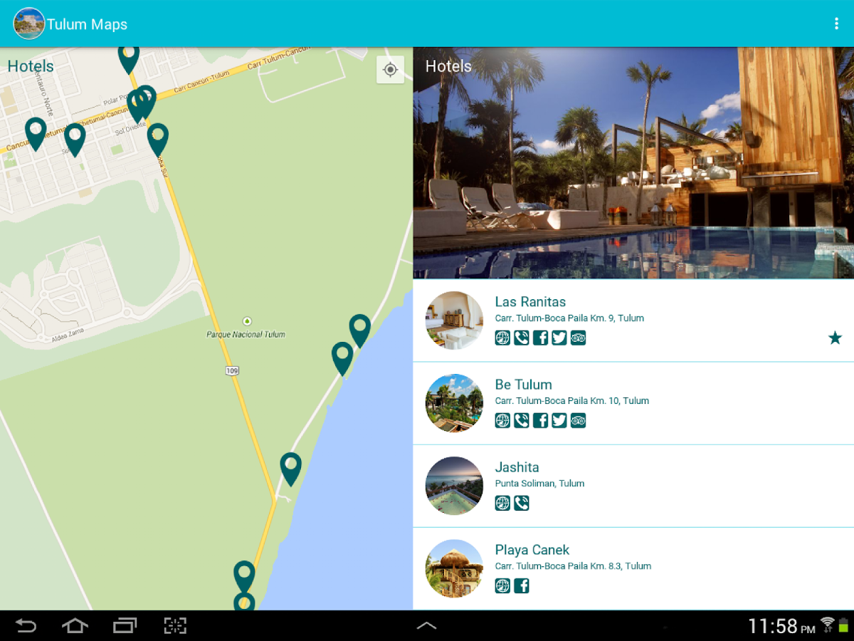 Tulum Maps- screenshot