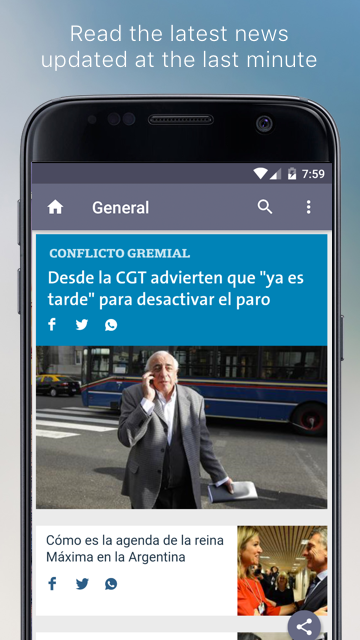 Argentine Newspapers- screenshot