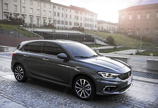 The Fiat Tipo. Picture: NEWSPRESS