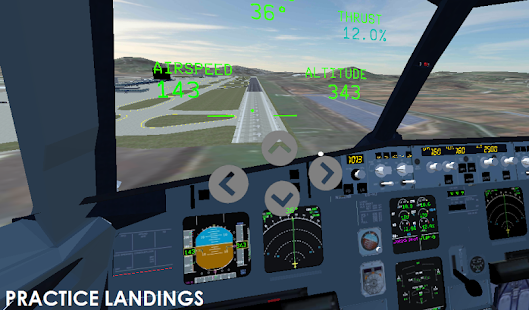 VR Flight Simulator Screenshot