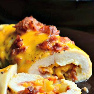 Apple Bacon Cheddar Stuffed Chicken