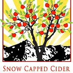 Snow Capped Peach Cider