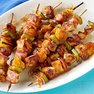 Pork and Pineapple Kabobs.