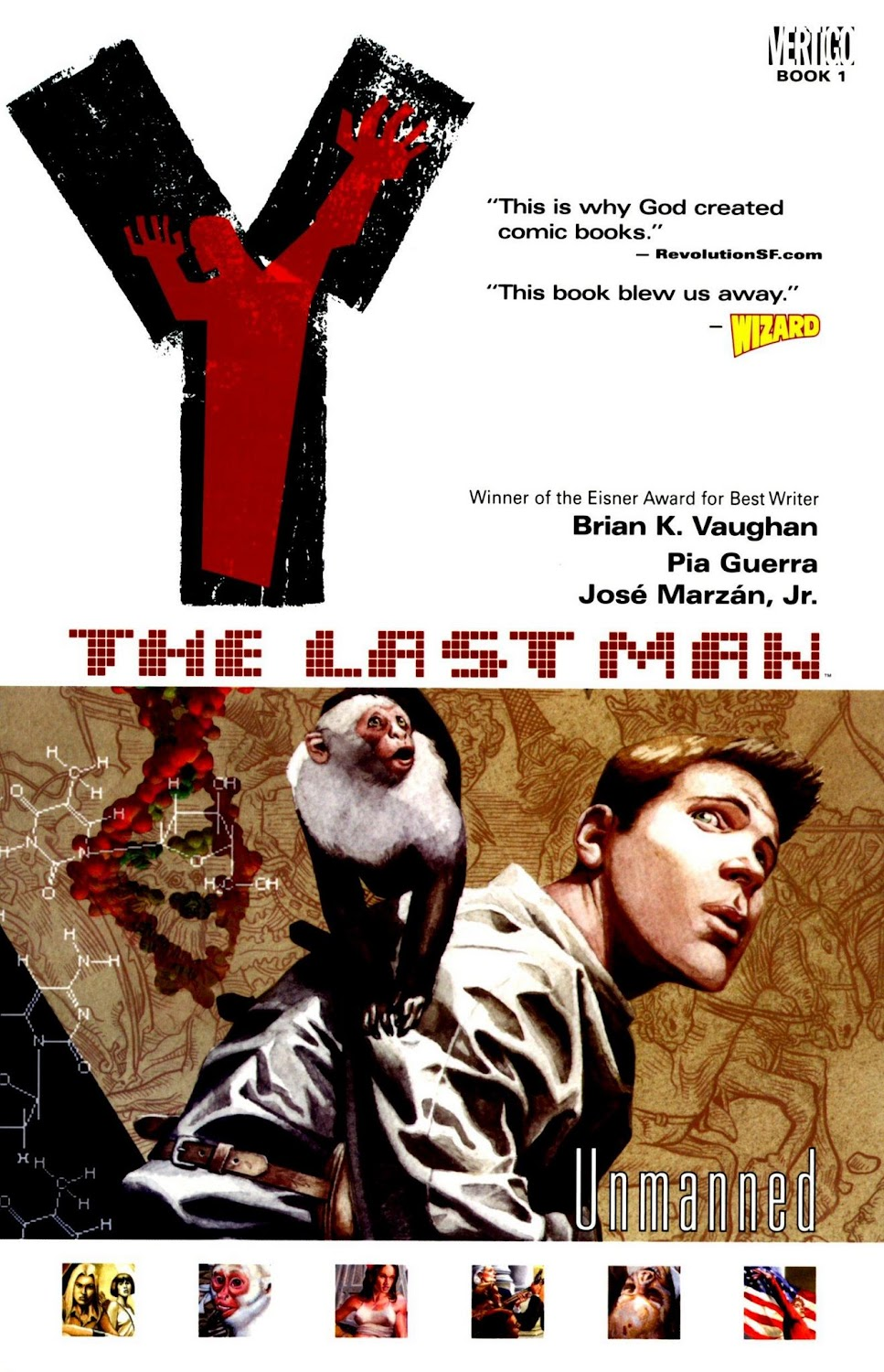 Y - The Last Man Vol. 1-10 TPB (2003) - complete