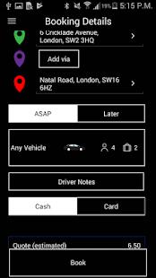 Greyhound Cars London Minicabs - náhled