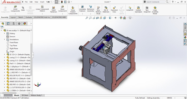 Engineering Students Project in Autocad,Catia,Solidworks