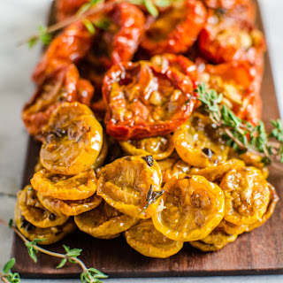 Juicy Slow Roasted Tomatoes