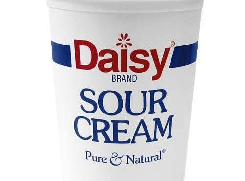 Sour Cream Stock Photo
