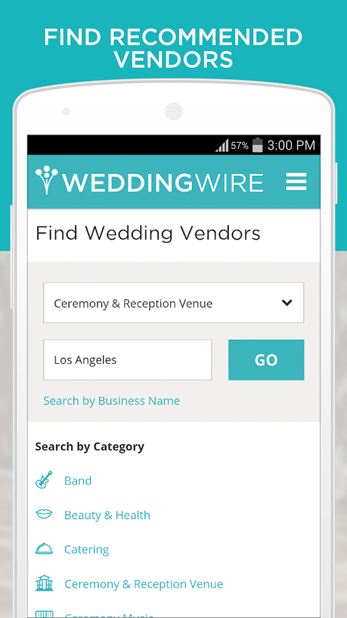 Wedding Planning App - screenshot
