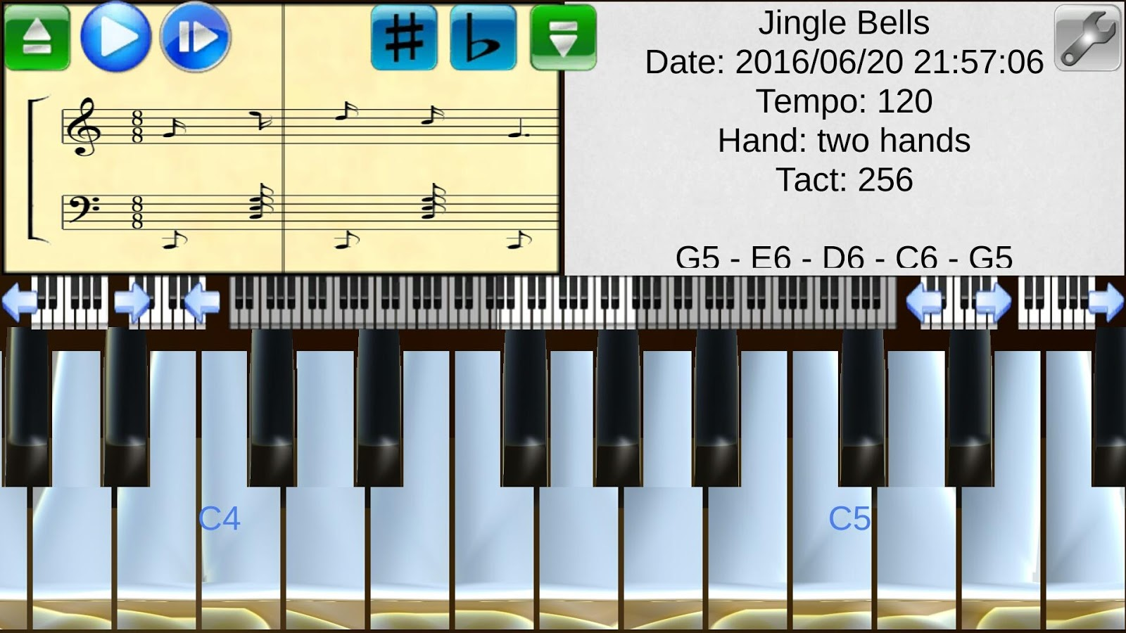 Piano studio android apps on google play piano studio screenshot hexwebz Gallery