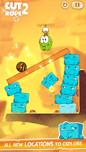 Cut the Rope 2 MOD Apk (Unlimited Coins) 5