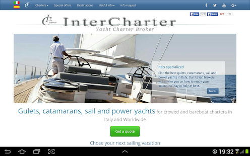 InterCharter- miniatura screenshot