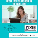 Best IAS/UPSC Coaching in BENGALURU- Chahal Academy