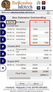 Online Accounting screenshot 7
