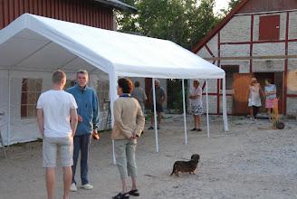 Photo: Fredag aften startede de første med at sætte telte op på pladsen Enghavevej 2