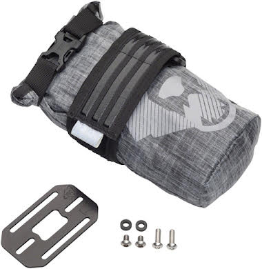 Wolf Tooth B-RAD TekLite Roll-Top Bag and Mounting Plate - 0.6L Black alternate image 0