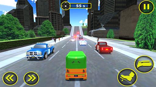 Modern Rickshaw Driving - Free Tuk Tuk Auto Games 1.1 screenshots 1