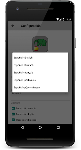 10000 Spanish Verbs screenshot 3