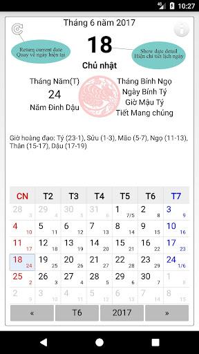 Vietnamese lunar calendar 1.7 2