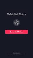 screenshot of TikTok Wall Picture