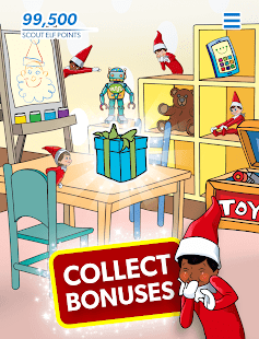 Find the Scout Elves — The Elf on the Shelf® Screenshot