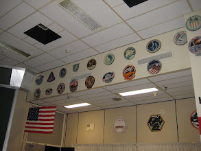 Photo: Mission Insignia of Mercury, Gemini, Apollo, Skylab & early Shuttle missions