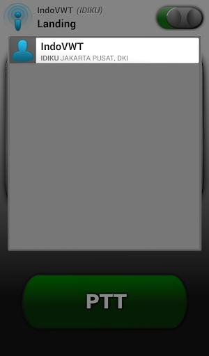 Indonesia Virtual Walkie Talkie screenshot