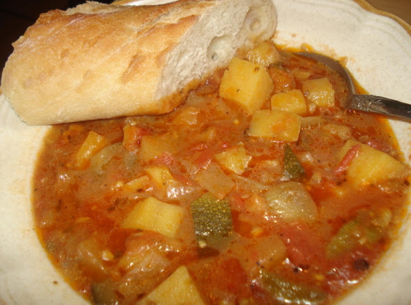 Eggplant And Zucchini Soup, Caldo De Calabacitas Y Berengena Recipe