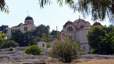 Photo: Church of St. Marina on the right