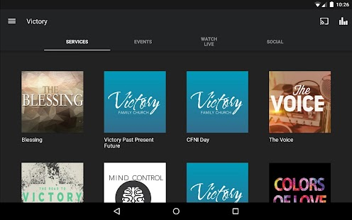 Victory Family Church App- screenshot thumbnail