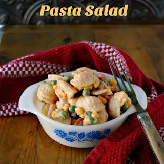 Pea and Pasta Salad.
