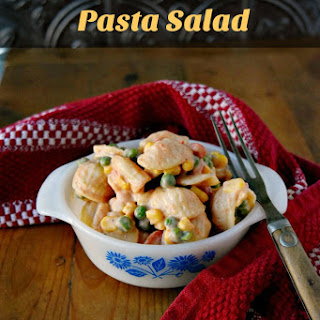 Pea and Pasta Salad.