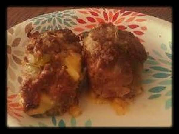 Philly Cheesesteak Mini Meatloafs Recipe