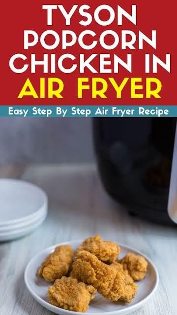 Tyson Popcorn Chicken In Air Fryer