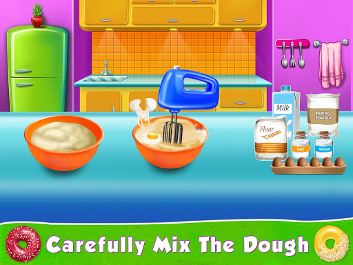 Kids Donut Bakery Food Maker Game 1.0 screenshots 4