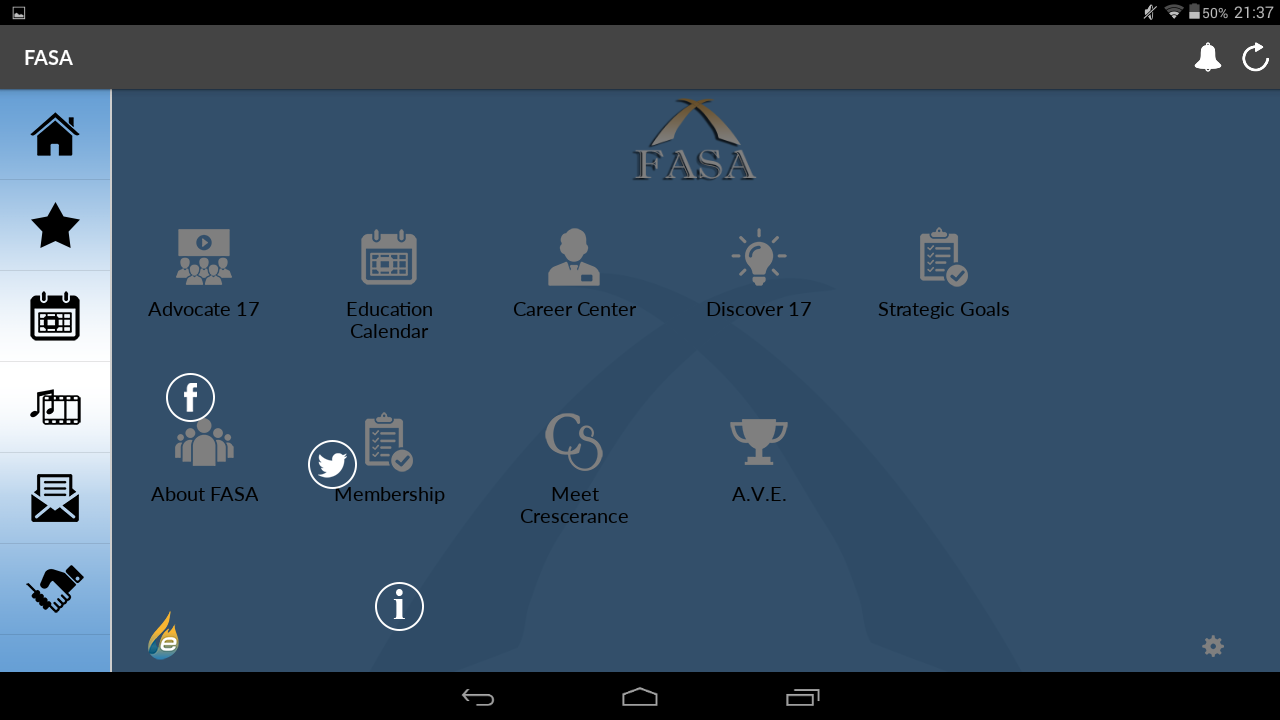 FASA- screenshot