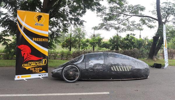 ANSYS - Проект «Decimas», десятый автомобиль VIT's Eco Titans