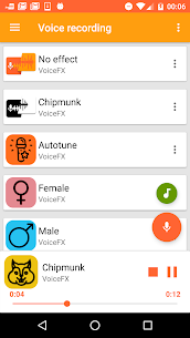 VoiceFX – Voice Changer with voice effects Apk Latest Version Download For Android 1