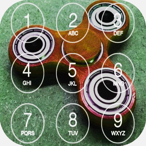 Fidget Spinner Lock Screen