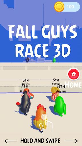 Fall Guyz Race 3D – Ultimate Parkour Run  screenshots 11