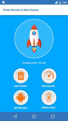 Power Booster & Ram Cleaner - screenshot