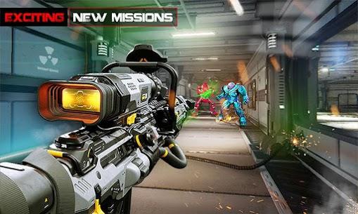 US Police Robot Counter Terrorist Shooting Games 4