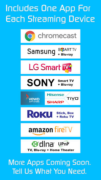 Video And Tv Cast For Samsung >> Video Tv Cast Ultimate Edition On Google Play Reviews Stats