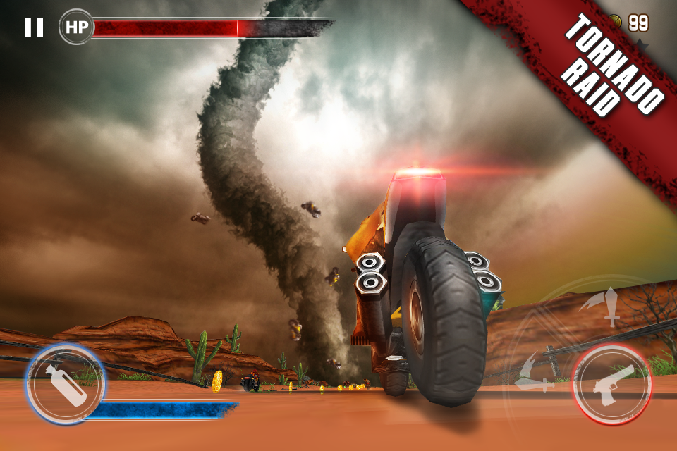 Death Moto 3- screenshot