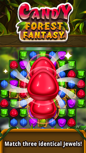 Candy forest fantasy : Match 3 Puzzle  screenshots 1