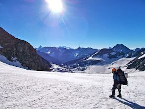 Photo: Following the Haute Route towards Chanrion