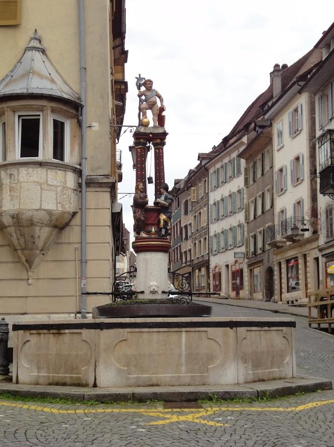 Fontaine de la Samaritaine à Porrentruy
