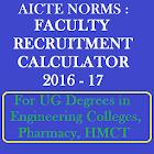 AICTE Norms:Recruitment Calc icon
